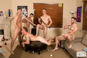 College jocks Chase, John Culver, Ken, Shawn Reeve and Tobias 17