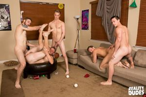 College jocks Chase, John Culver, Ken, Shawn Reeve and Tobias 18