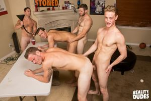 College jocks Chase, John Culver, Ken, Shawn Reeve and Tobias 26