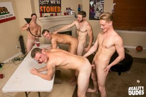 College jocks Chase, John Culver, Ken, Shawn Reeve and Tobias 27