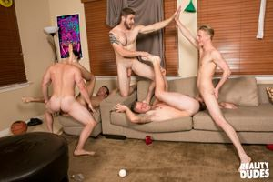 College jocks Chase, John Culver, Ken, Shawn Reeve and Tobias 29