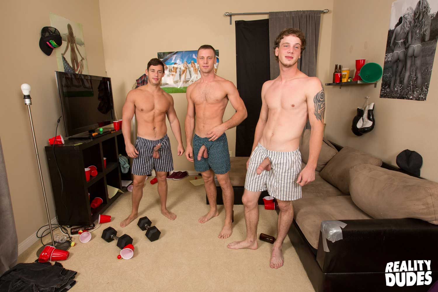 Young muscled boys in their underwear gay