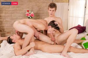 Jake Williams, Johny Walsh and Nick Fox 2