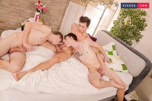 Jake Williams, Johny Walsh and Nick Fox 13