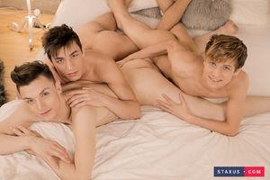 Jake Williams, Liam Stone and David Hollister 8