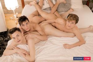 Jake Williams, Liam Stone and David Hollister 9