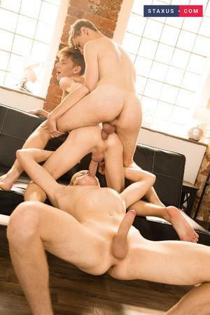 Joel Tamir, Nick Fox and Danny Jones 6