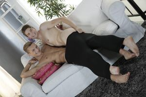 Sexy Twink Gets A Spunky Shoot With Handsome Cock 14