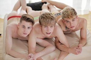 Martin Osment, Patrik Donovan and Titus Snow 1