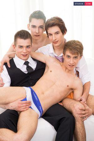 Navon Raffi, Michal Tovi, Ron Negba and George Udall 2