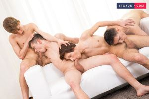 Navon Raffi, Michal Tovi, Ron Negba and George Udall 3