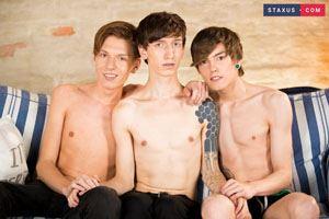 Gregor Gilead, Beno Eker and Joel Tamir 14