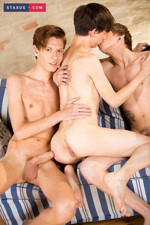 Gregor Gilead, Beno Eker and Joel Tamir 15