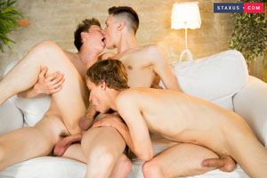 Carl Chater, Ron Negba and Liam Stone 3