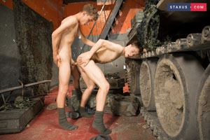 Ron Negba and Adrian Bennet 6